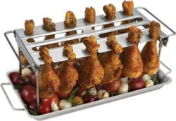 Grillpro Stainless Steel Wing / Drum Stick Rack