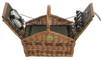 Willow Picnic Hamper For 4 Persons