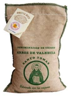 Paella Rice in a Cloth Bag 1Kg