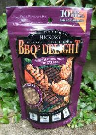 BBQr's Delight 1Lb Bag of Hickory Barbecue Wood Pellets