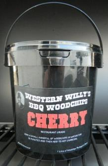1 Litre Western Willy's Cherry Wood Chips