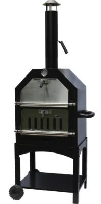 La Hacienda Charcoal BBQ Smoker and Pizza Oven