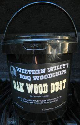 1 Litre Western Willy's Oak Wood Dust