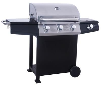 Lifestyle St Vincent 3 Burner Gas BBQ