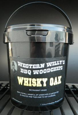 1 Litre Western Willy's Whisky Wood Chips