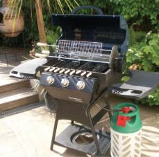Barbeskew A Revolutionary Design Gas Rotisserie BBQ