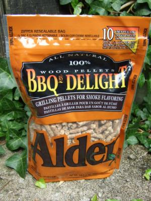 BBQr's Delight 1Lb Bag of Alder Barbecue Wood Pellets