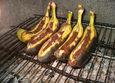 How to BBQ Black Banana Recipe
