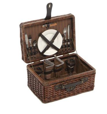 Willow Picnic Hamper For 2 Persons